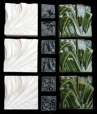 Flax panels, Square, Kowhai Quarters