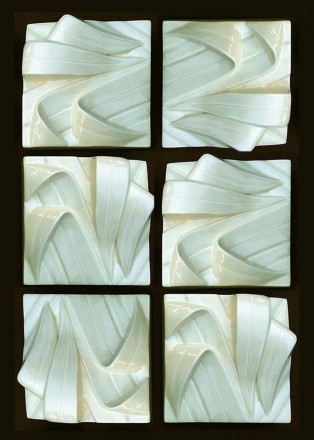Flax tips square x 6
