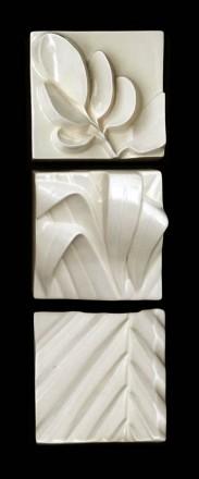 White Squares Broadleaf Flax Tips Nikau