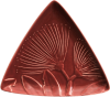 Triangle plate Pohutukawa