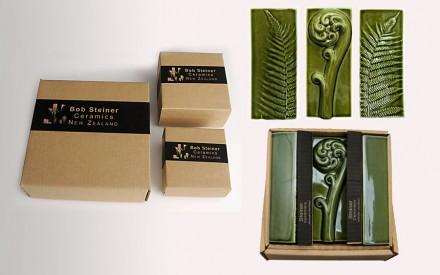 Silver fern Oblongs boxed