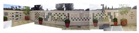 8 A panorama of the Past Present and Future Commemorative Wall