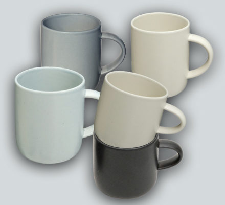 Mugs in a group